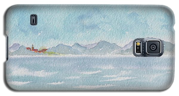 Galaxy S5 Case featuring the painting Land Ahoy Cruising By Cuba by Pat Katz
