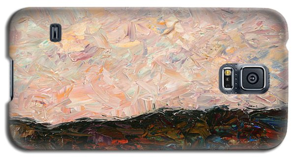 Impressionism Galaxy S5 Case - Land And Sky by James W Johnson