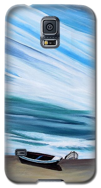 Land Meets Sky Galaxy S5 Case by Marilyn  McNish