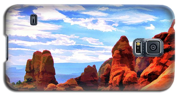 Land Of Moab - Watercolor Galaxy S5 Case