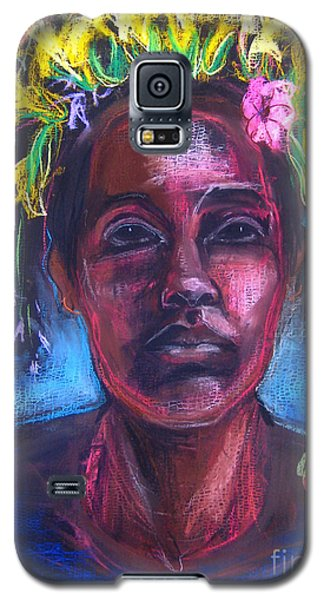 Galaxy S5 Case featuring the drawing Land Of Plenty by Gabrielle Wilson-Sealy