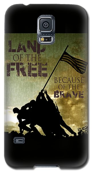 Land Of The Free Galaxy S5 Case by Dawn Romine