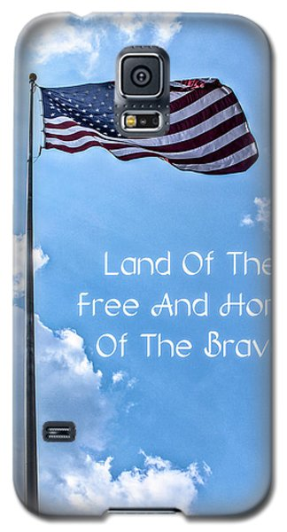 Land Of The Free Galaxy S5 Case by Joann Copeland-Paul