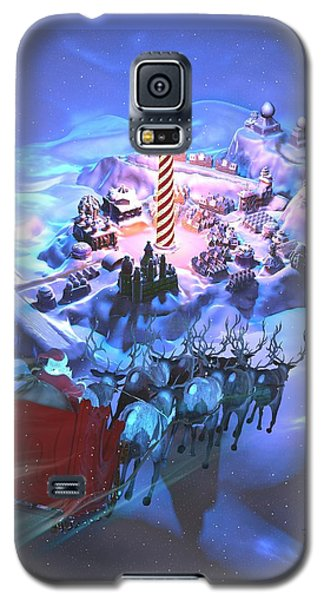 Landing At The North Pole Galaxy S5 Case by Dave Luebbert