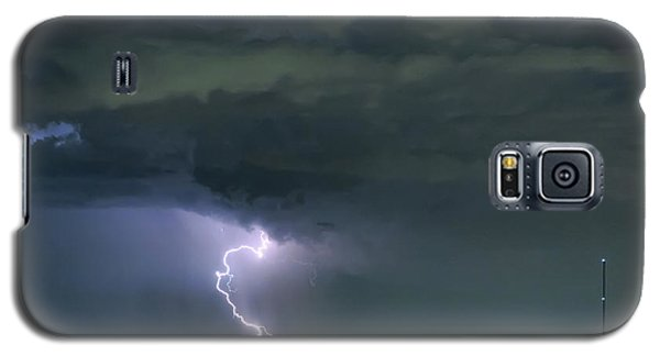 Galaxy S5 Case featuring the photograph Landing In A Storm by James BO Insogna