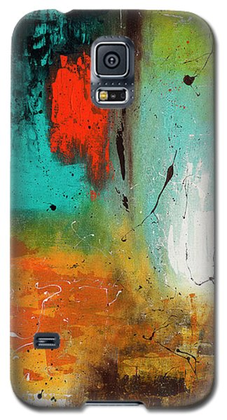 Galaxy S5 Case featuring the painting Landmarks by Carmen Guedez