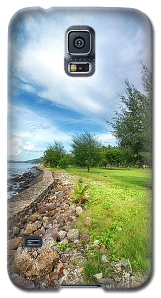 Galaxy S5 Case featuring the photograph Landscape 2 by Charuhas Images