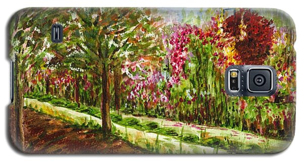 Galaxy S5 Case featuring the painting Landscape 2 by Harsh Malik