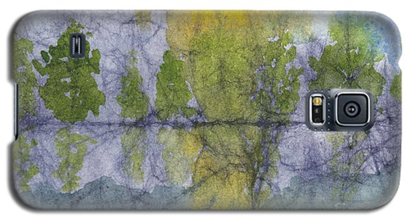 Landscape Reflection Abstraction On Masa Paper Galaxy S5 Case