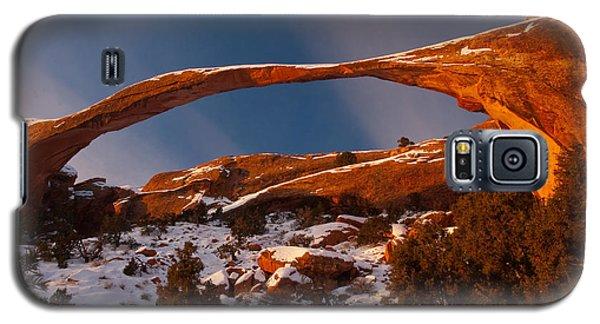 Landscape Arch Sunrise Galaxy S5 Case