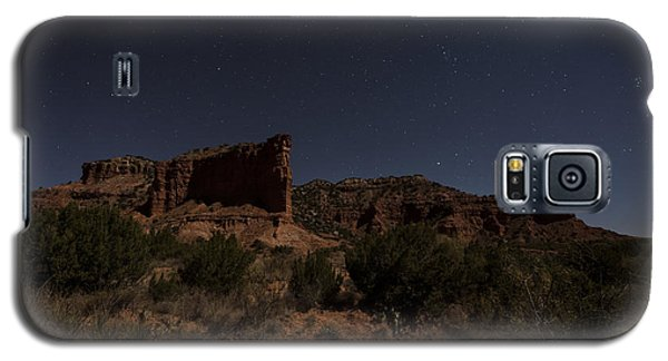 Galaxy S5 Case featuring the photograph Landscape In The Moonlight by Melany Sarafis