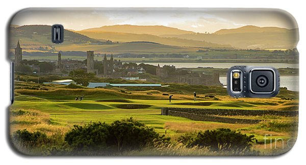 Landscape Of St Andrews Home Of Golf Galaxy S5 Case by MaryJane Armstrong