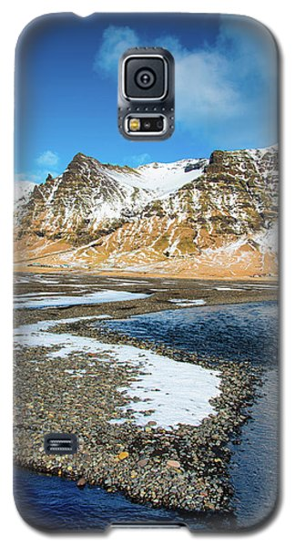 Galaxy S5 Case featuring the photograph Landscape Sudurland South Iceland by Matthias Hauser