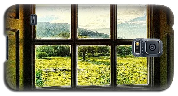 Beautiful Galaxy S5 Case - #landscape #window #beautiful #trees by Samuel Gunnell