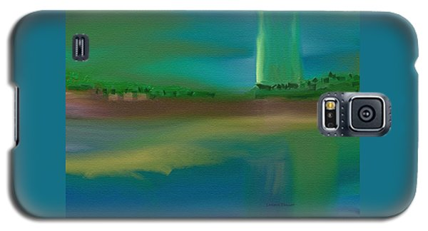 Landscape With A Chance Of Rain Galaxy S5 Case by Lenore Senior