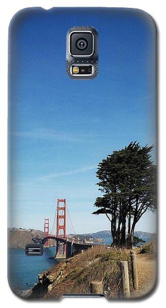 Landscape With Golden Gate Bridge Galaxy S5 Case