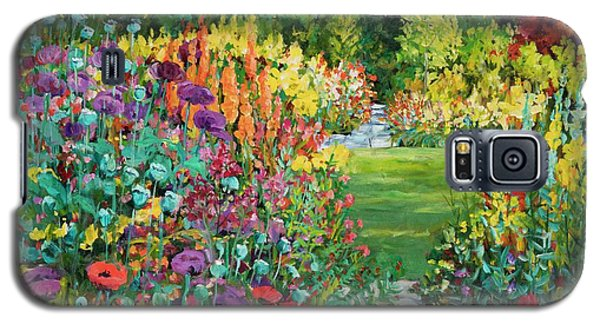 Landscape With Poppies Galaxy S5 Case