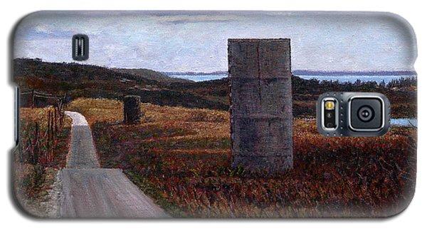Landscape With Silos Galaxy S5 Case