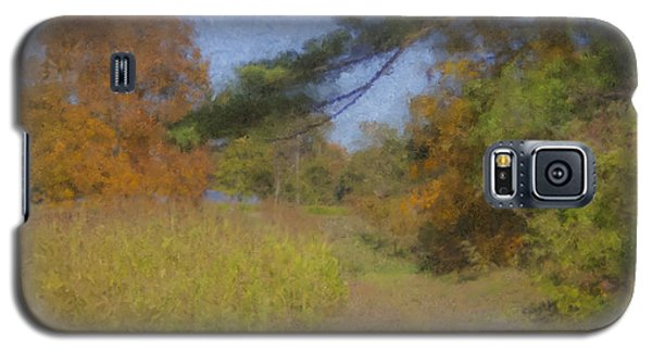 Langwater Farm Tractor Path Galaxy S5 Case