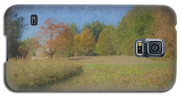 Langwater Farm With Pumpkins And Chateau Galaxy S5 Case