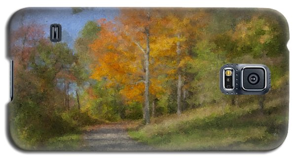 Langwater Path In October Galaxy S5 Case