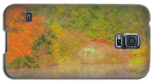 Langwater Pond Boathouse October 2015 Galaxy S5 Case