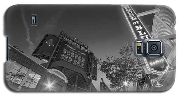 Lansdowne Street Fenway Park House Of Blues Boston Ma Black And White Galaxy S5 Case