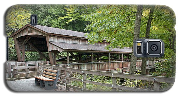 Lanterman's Mill Covered Bridge Galaxy S5 Case