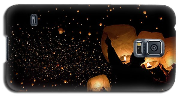 Lantern Fest Group Galaxy S5 Case