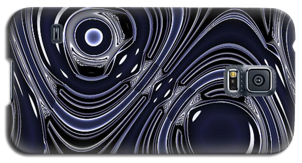 Lapis And Chrome Abstract Galaxy S5 Case