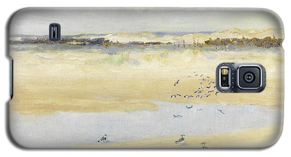 Lapwings By The Sea Galaxy S5 Case