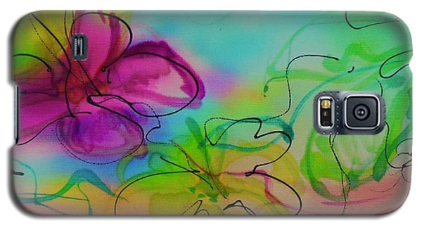 Large Flower 2 Galaxy S5 Case
