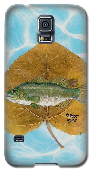 Large Mouth Bass #2 Galaxy S5 Case