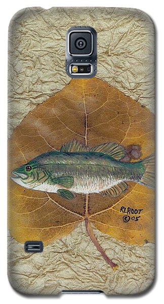 Large Mouth Bass #3 Galaxy S5 Case