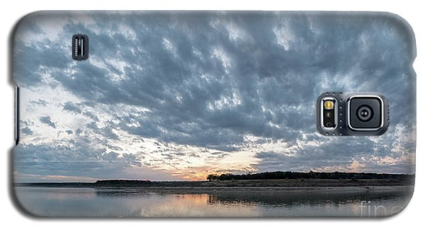 Large Panorama Of Storm Clouds Reflecting On Large Lake At Sunse Galaxy S5 Case