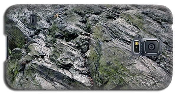 Galaxy S5 Case featuring the photograph Large Rock At Central Park by Sandy Moulder