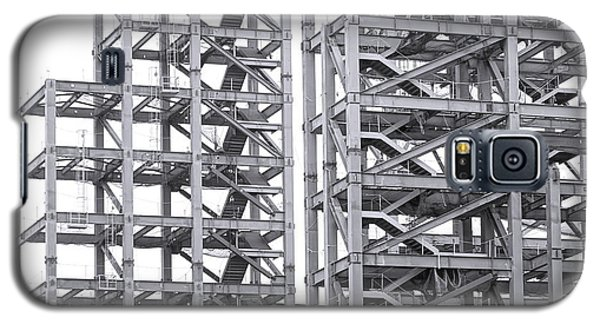 Large Scale Construction Project With Steel Girders Galaxy S5 Case by Yali Shi