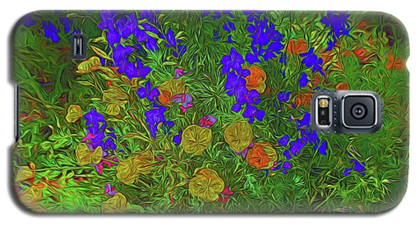 Larkspur And Primrose Garden 12018-3 Galaxy S5 Case