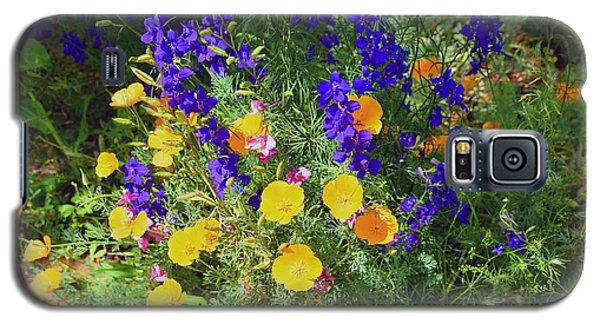 Larkspur And Primrose Garden Galaxy S5 Case