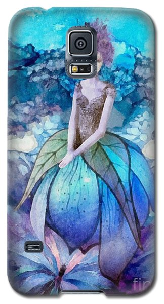 Galaxy S5 Case featuring the painting Larmina by Mo T