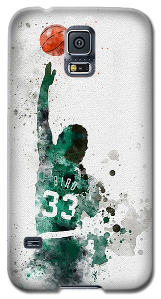 Larry Bird Galaxy S5 Case by Rebecca Jenkins
