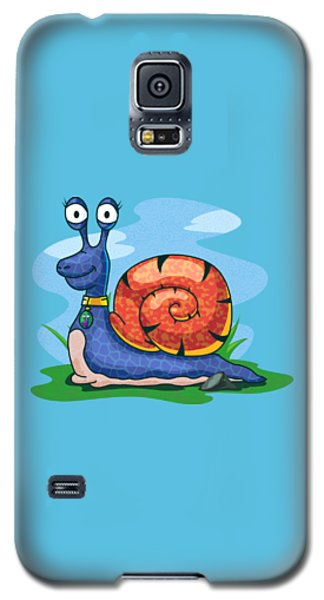Larry The Snail Galaxy S5 Case