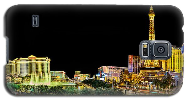 Las Vegas At Night Galaxy S5 Case