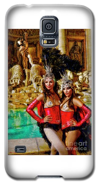 Las Vegas Showgirls Galaxy S5 Case