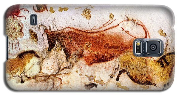 Lascaux Cow And Horses Galaxy S5 Case