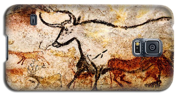 Lascaux Hall Of The Bulls - Aurochs Galaxy S5 Case