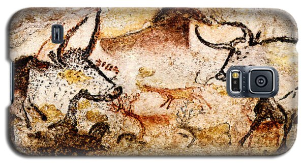Lascaux Hall Of The Bulls - Deer And Aurochs Galaxy S5 Case