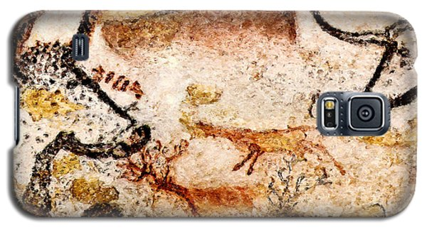 Lascaux Hall Of The Bulls - Deer Between Aurochs Galaxy S5 Case
