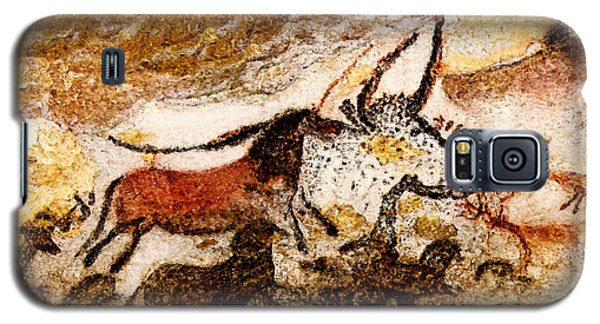 Lascaux Hall Of The Bulls - Horses And Aurochs Galaxy S5 Case