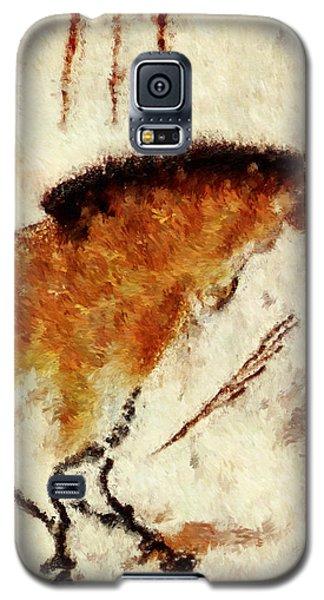Lascaux Prehistoric Horse Detail Galaxy S5 Case